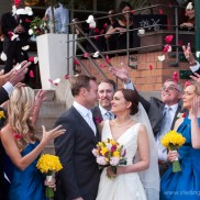 everyone celebrating at a hillstone st lucia wedding