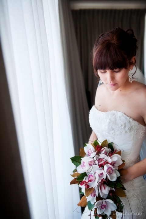 Bride brisbane wedding mantra beautiful brides bouquet